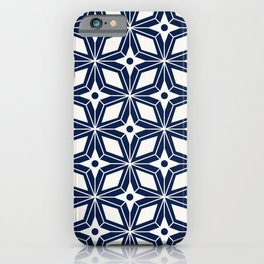 Starburst - Navy iPhone Case