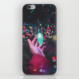 The Christmas Light (Color) iPhone Skin