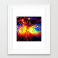 storm Framed Art Prints featuring Storm by 2sweet4words Designs