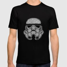 Trooper Star Circle Wars Mens Fitted Tee Black MEDIUM