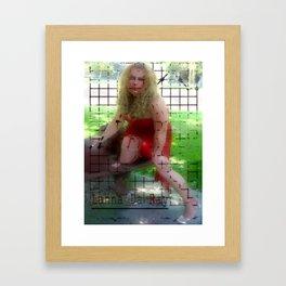 My Name Is...Karla Framed Art Print