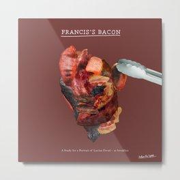 Francis's Bacon Metal Print