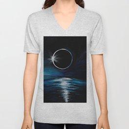 The Eclipse Unisex V-Neck