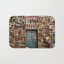 bookstore in Italy Bath Mat