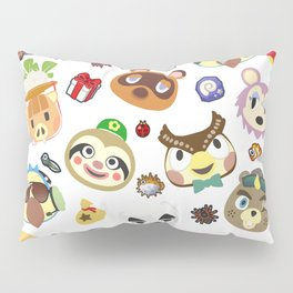 animal crossing cute villagers Pillow Sham