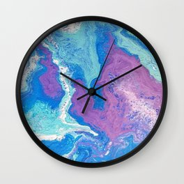 Lavender Blue Wall Clock