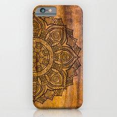 Mandala on wood Slim Case iPhone 6