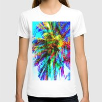 palm tree T-shirts featuring Palm Tree  by Nikki Hung