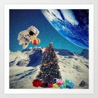 christmas tree Art Prints featuring Christmas Tree by Cs025