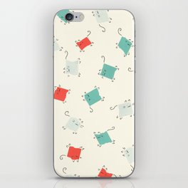 Tape cats iPhone Skin