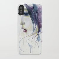 silent hill iPhone & iPod Cases featuring Silent by Cora-Tiana