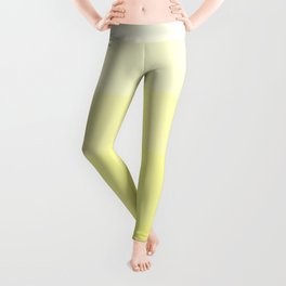 Soft Yellow Hues Palete - Color Therapy Leggings