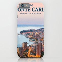 Visit Monte Carlo iPhone Case
