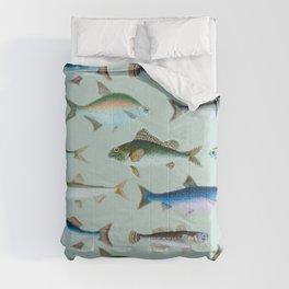 School of Fish No. 2 Comforters