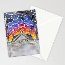 Faisal Mosque, Islamabad, Pakistan Stationery Cards