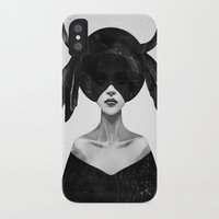 power iPhone & iPod Cases featuring The Mound II by Ruben Ireland