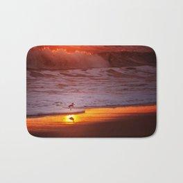 Sunny Sandpiper Bath Mat