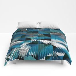 Blue For You / Pattern #8 Comforters