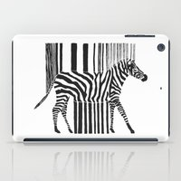 code iPad Cases featuring Zebra Code by Lilian
