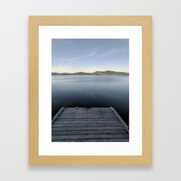 Peaceful Afternoon Framed Art Print