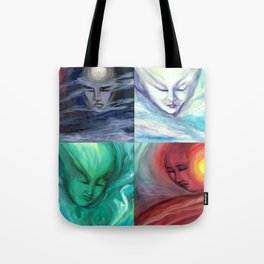 Four Winds: East, South, West, & North Tote Bag