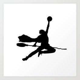 #TheJumpmanSeries, Airy Potter Art Print