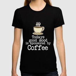 Coffee Bean Gift Morning Grumpy Coffee T-shirt