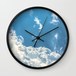 Floating on Air Wall Clock