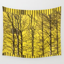 Trees against rape Wall Tapestry