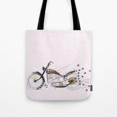 moto flower Tote Bag