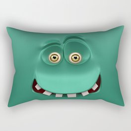 BOXAAT GREEN Rectangular Pillow