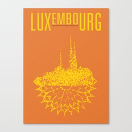 Luxembourg Canvas Print