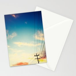 Powerlines Stationery Cards