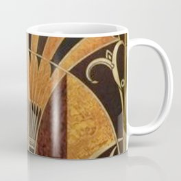 art deco wood Coffee Mug