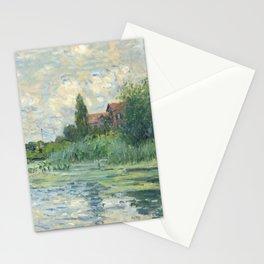 """Claude Monet """"Les bords de la Seine au Petit-Gennevilliers"""" Stationery Cards"""