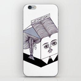 Wednesday Addams Milk Carton iPhone Skin