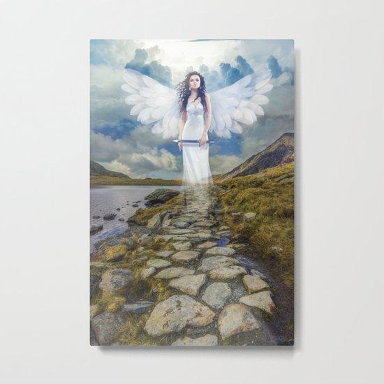 Angels Protection Metal Print