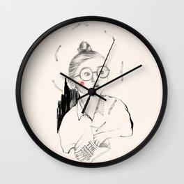 Flying Fries Wall Clock