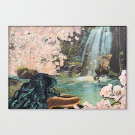 The Faun and the Mermaid Canvas Print