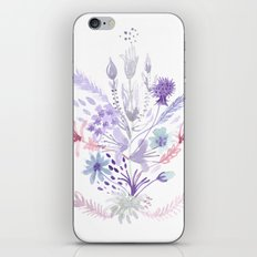 Colorful flowers iPhone & iPod Skin