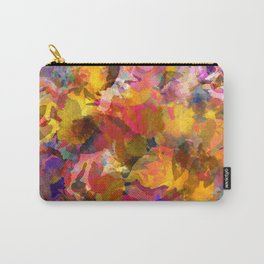 Poppy Gold Carry-All Pouch
