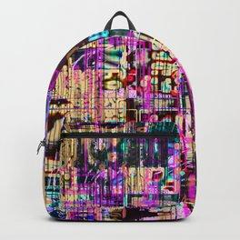 When Nostalgias Collide (or Remember the XX-ies?) (Recombinant Series) Backpack