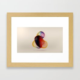 A Thought Process Framed Art Print