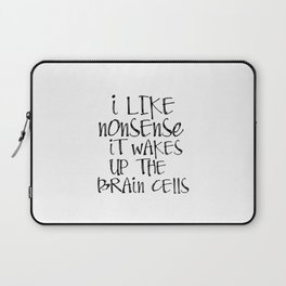 Printable Art, Dr Seuss quote print, printable quote Laptop Sleeve
