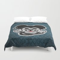 rat Duvet Covers featuring Rat by Shunshoo