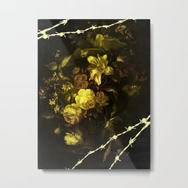 Barbed Beauty Metal Print