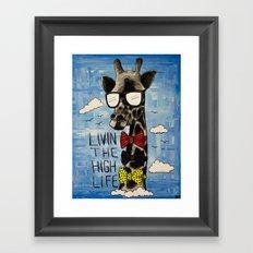 The High Life Framed Art Print