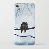 lovers iPhone & iPod Cases featuring Lovers by SensualPatterns