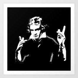 Beethoven Fighter Art Print