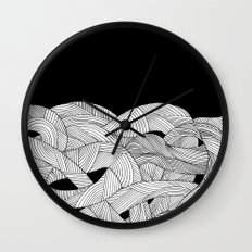 The tangled sea Wall Clock